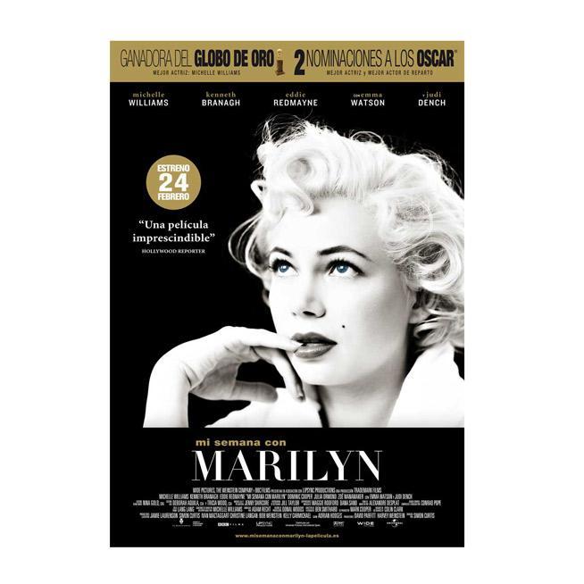 Marilyn, una semana con ella.