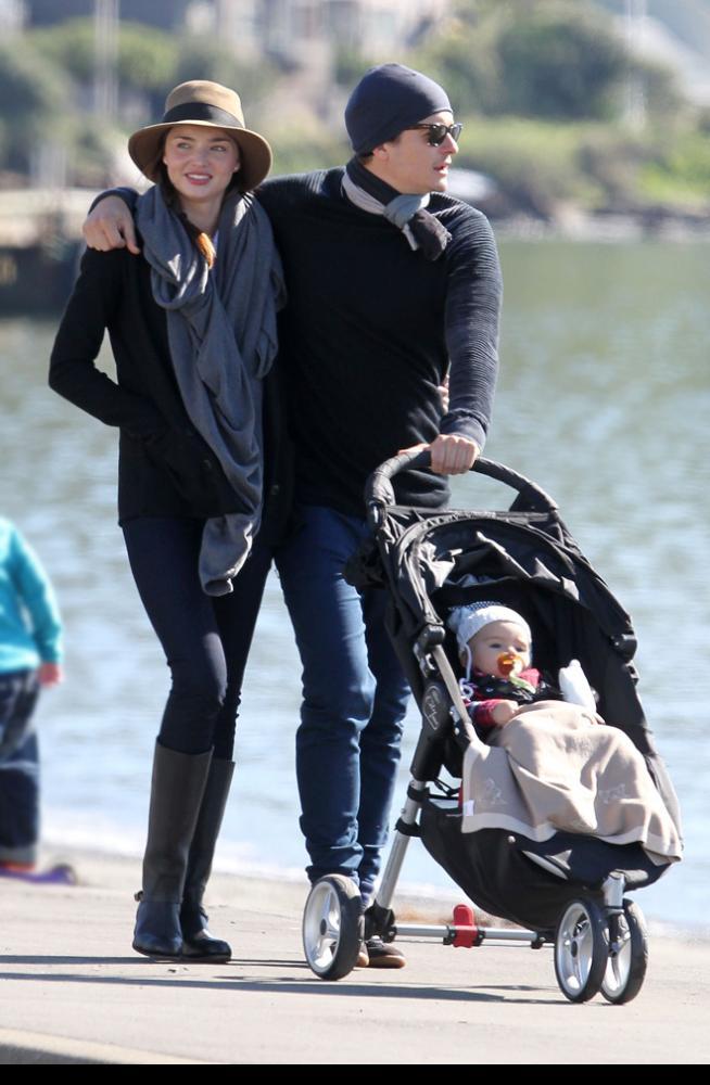 Miranda Kerr y Orlando Bloom