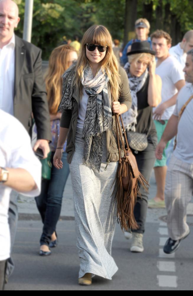 Copia todo el look de… Olivia Wilde