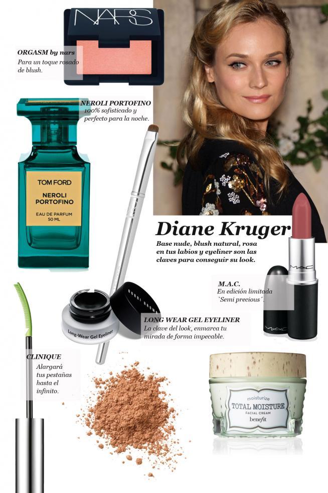 Diane Kruger, ¡consigue su look!