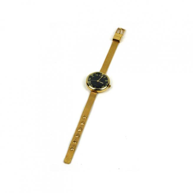 Reloj dorado vintage