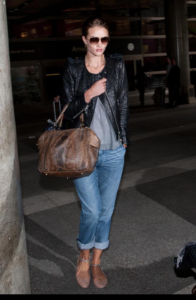 Consigue el look de la modelo Rosie Huntington