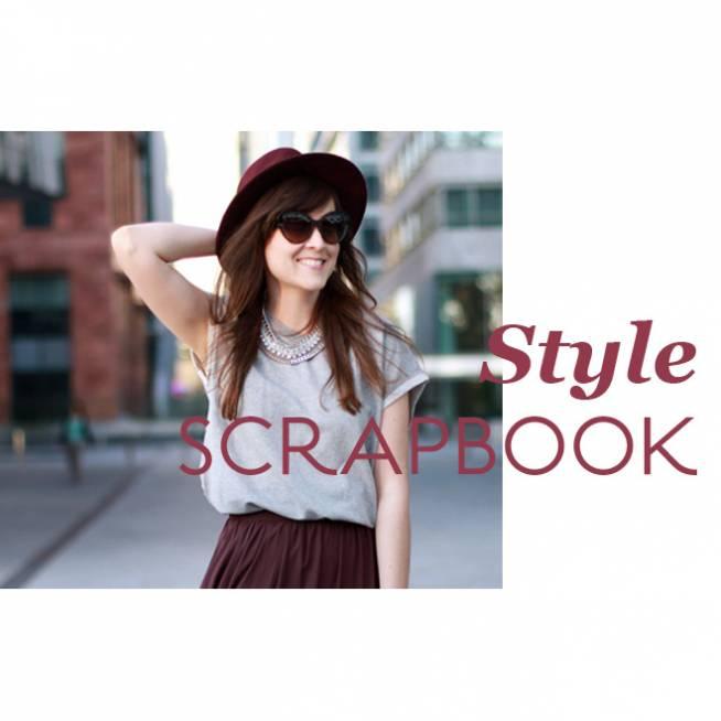 Style Scrapbook de burdeos