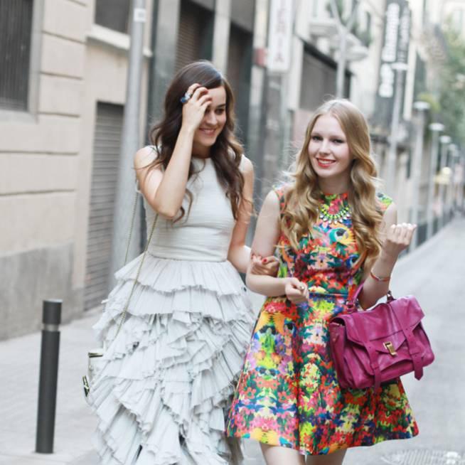 Style Scrapbook y su maxi vestido
