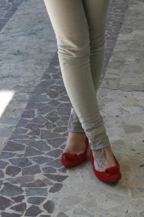 estilismo pantalon bailarinas contoirs des cotonniers