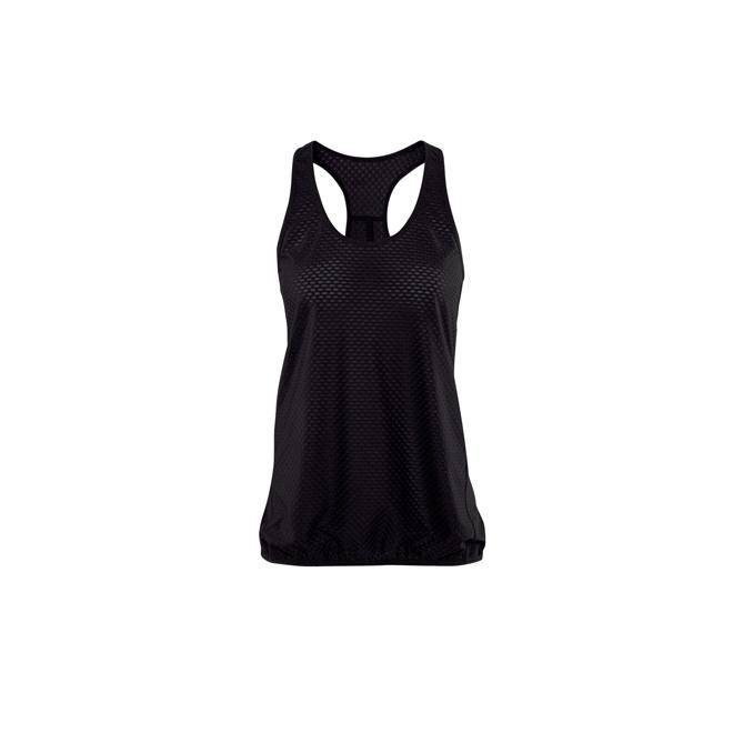 Camiseta de deporte negra