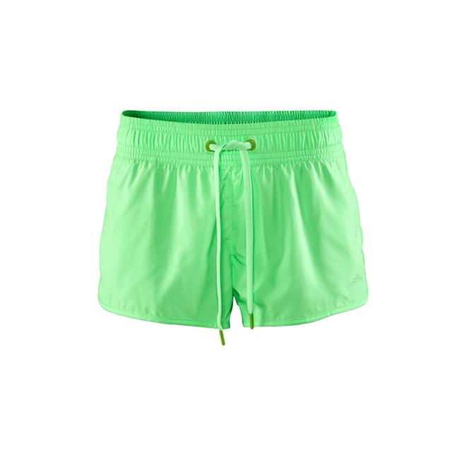 Shorts verde flúor