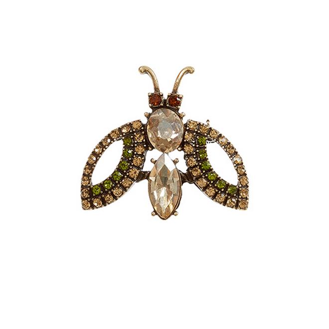 Broche con forma de mosca