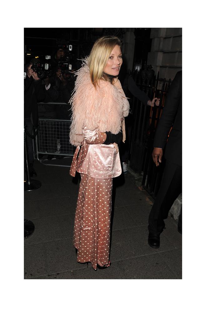 El inconfundible estilo de Kate Moss