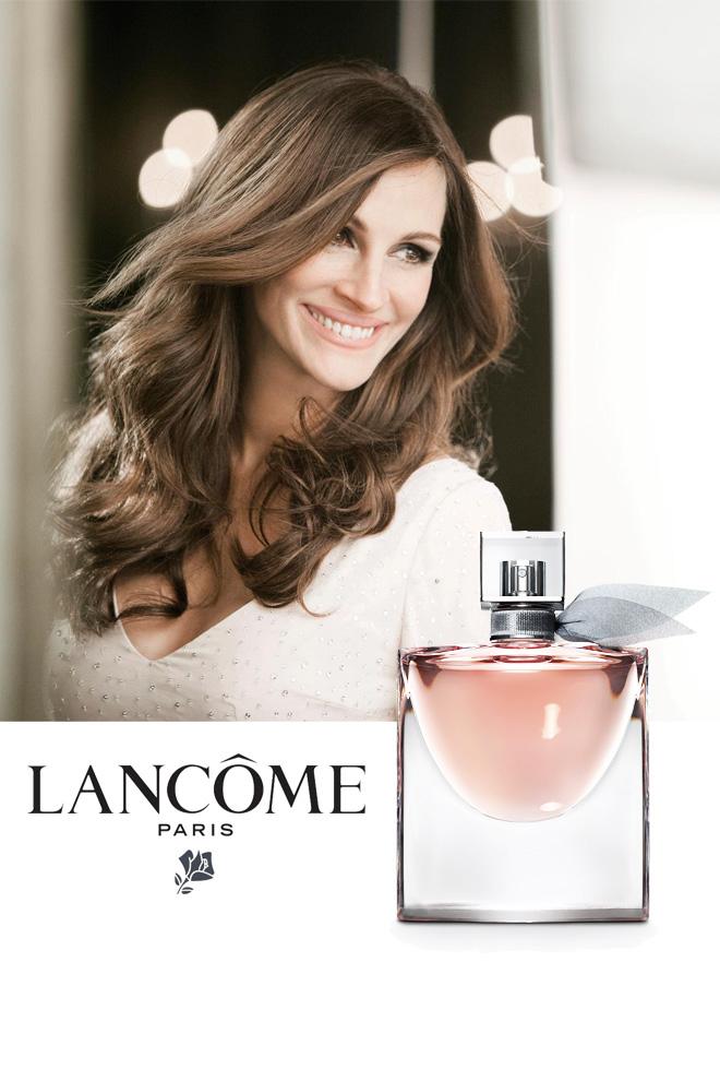 El nuevo perfume de Lancome