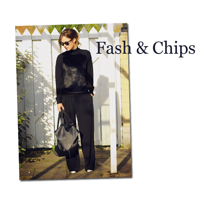 La mochila de Fash & Chips