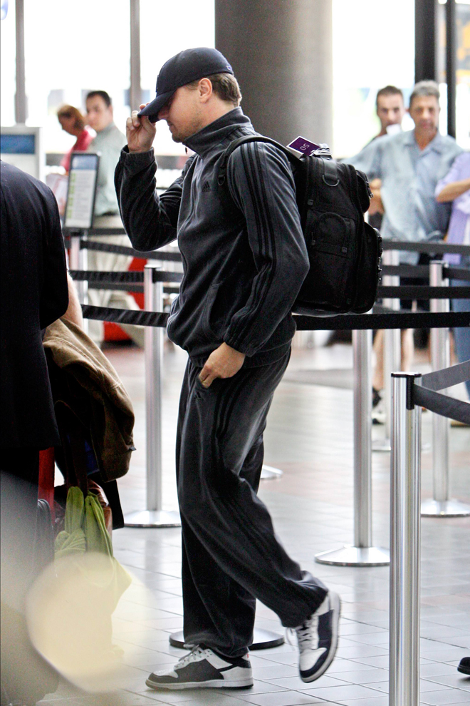 Leonardo DiCaprio con chándal