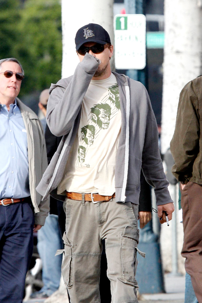 Leonardo DiCaprio casual