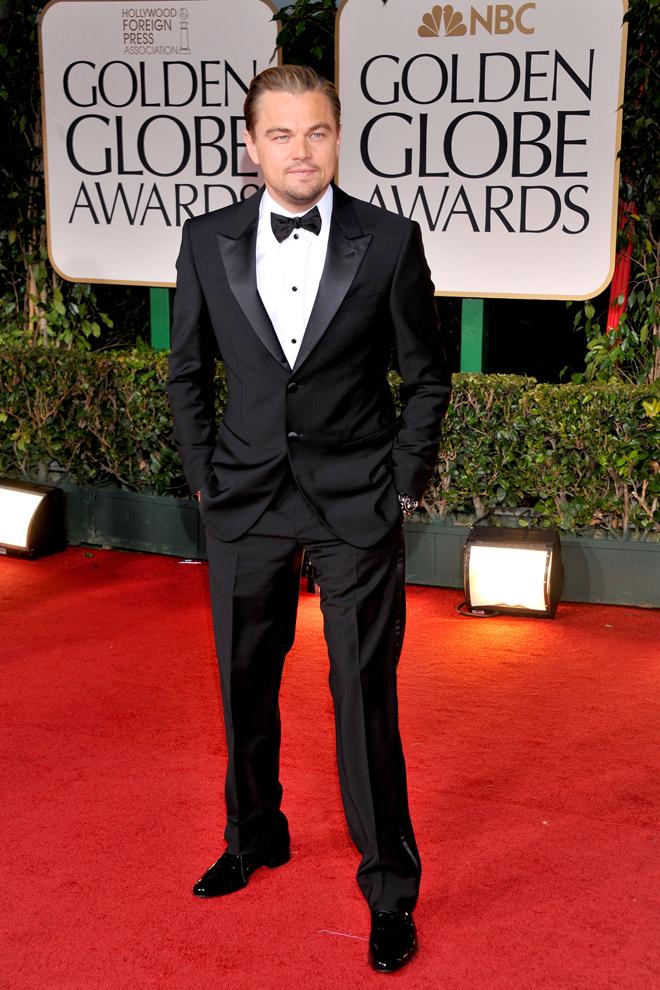 Leonardo DiCaprio de smoking