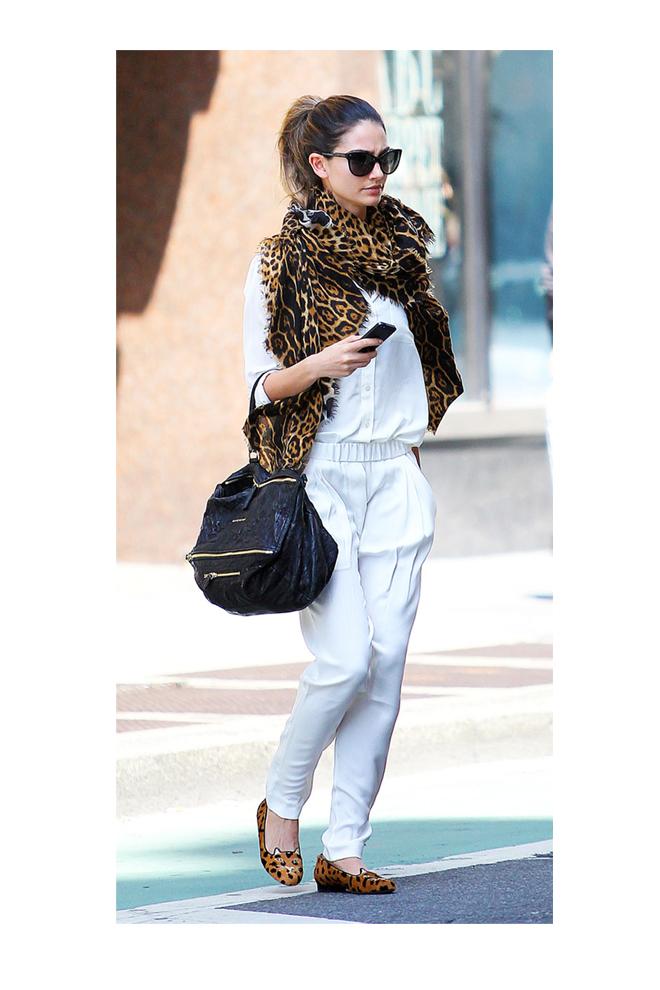 White & Leopard