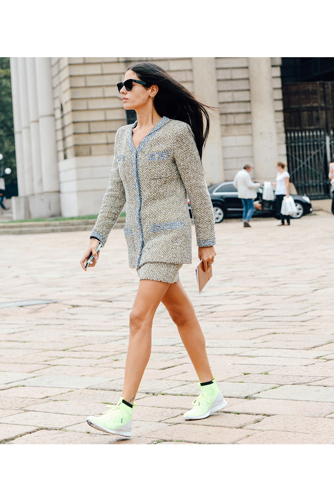Chanel + Running Sneakers
