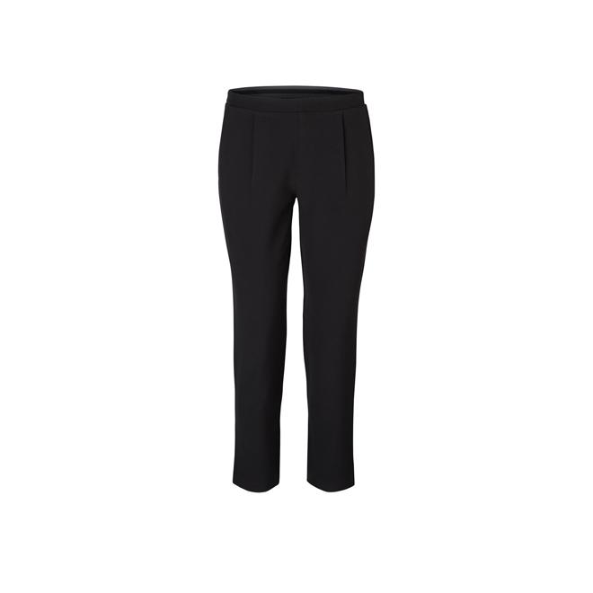 Pantalones negros de pinzas