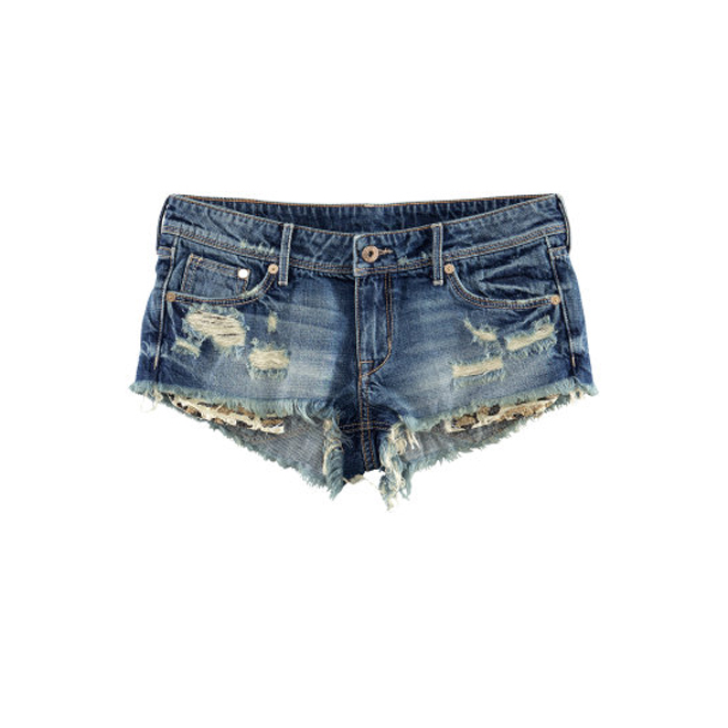 Shorts en clave denim
