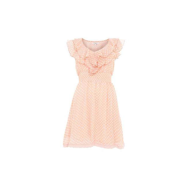 Vestido de lunares rosa