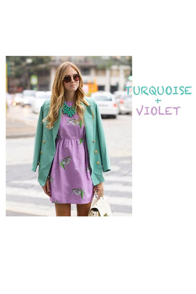 C mo combinar colores - Combinar color lila ...