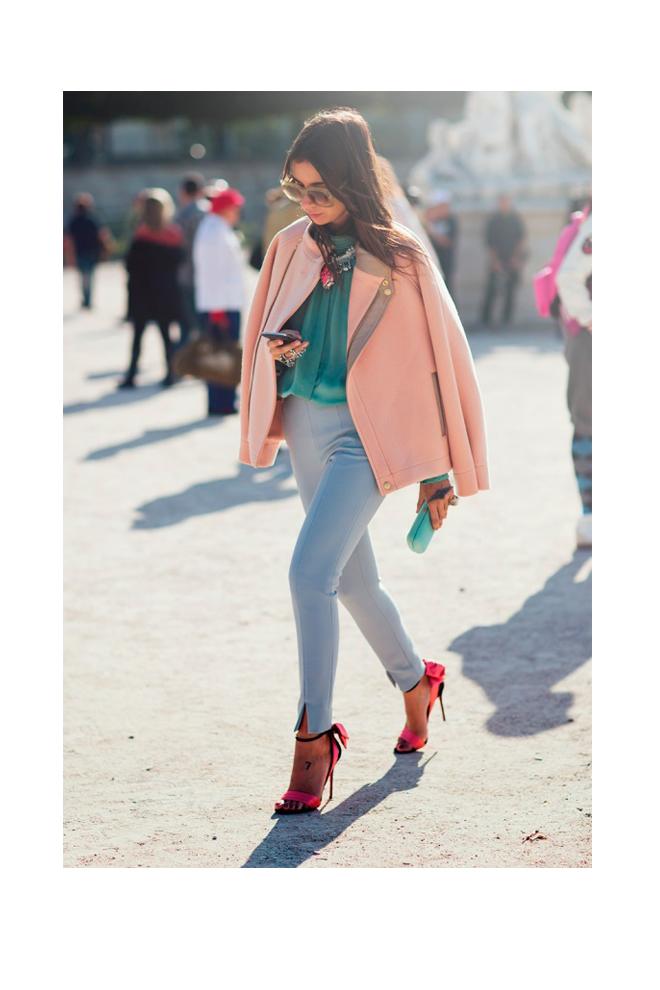 De colores pastel