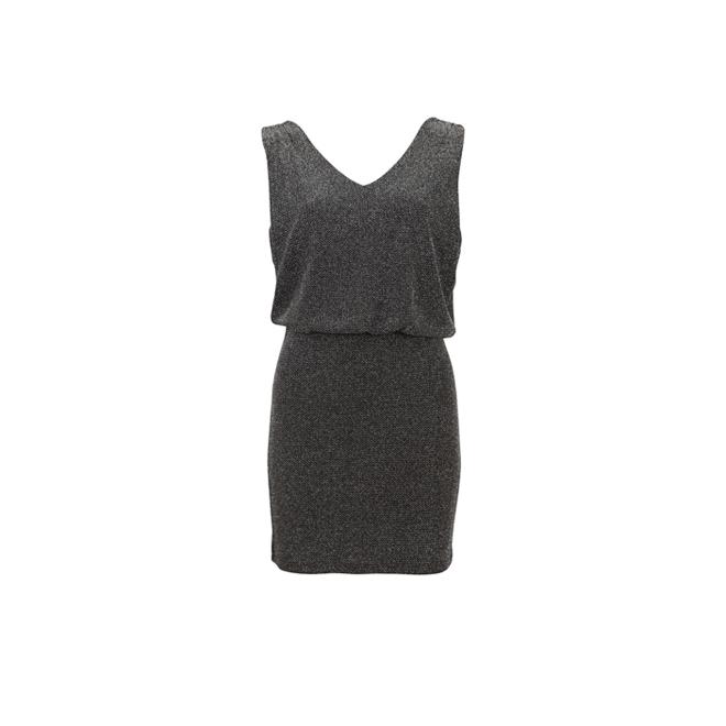 Vestido sin mangas gris