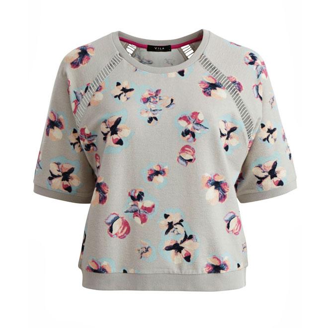 Jersey corto de flores