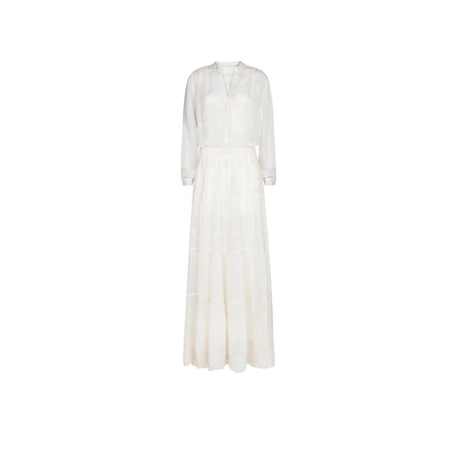 Vestido blanco de gasa