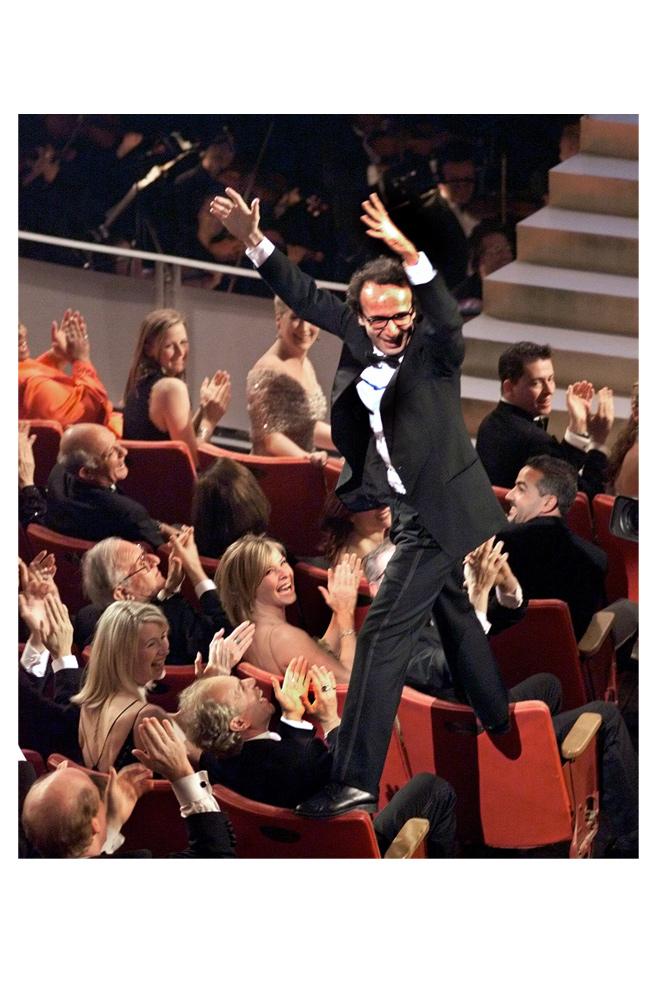 Roberto Benigni y su Oscar
