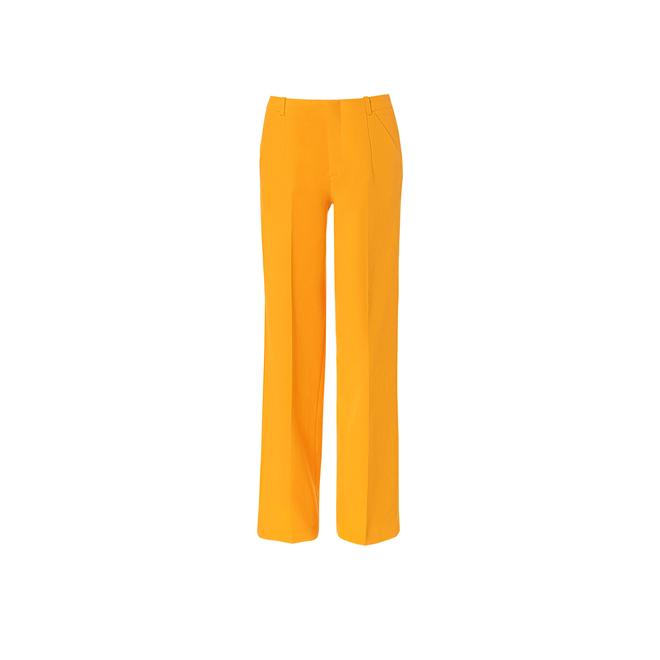 Pantalón ancho mandarina