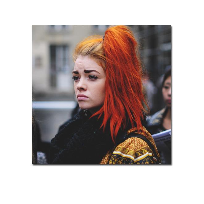 Orange manía parisina en Chic too Chic