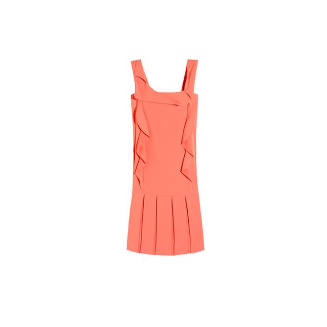 Vestido pichi coral