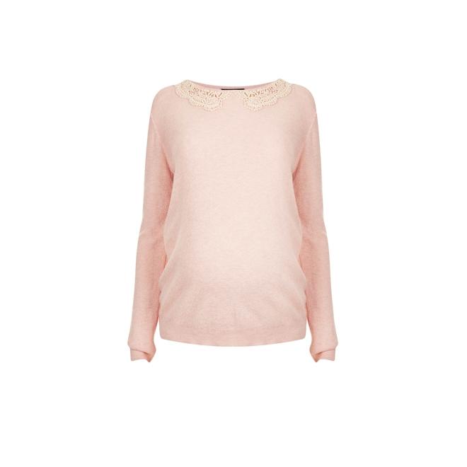 Jersey rosa de angora