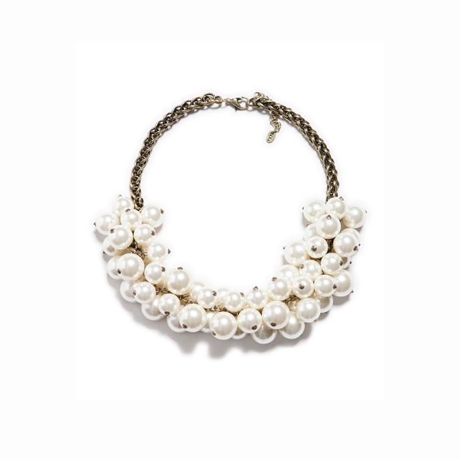Maxi collar de perlas