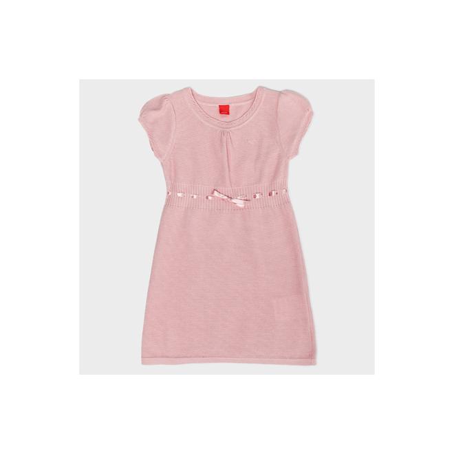 Vestido de punto rosa