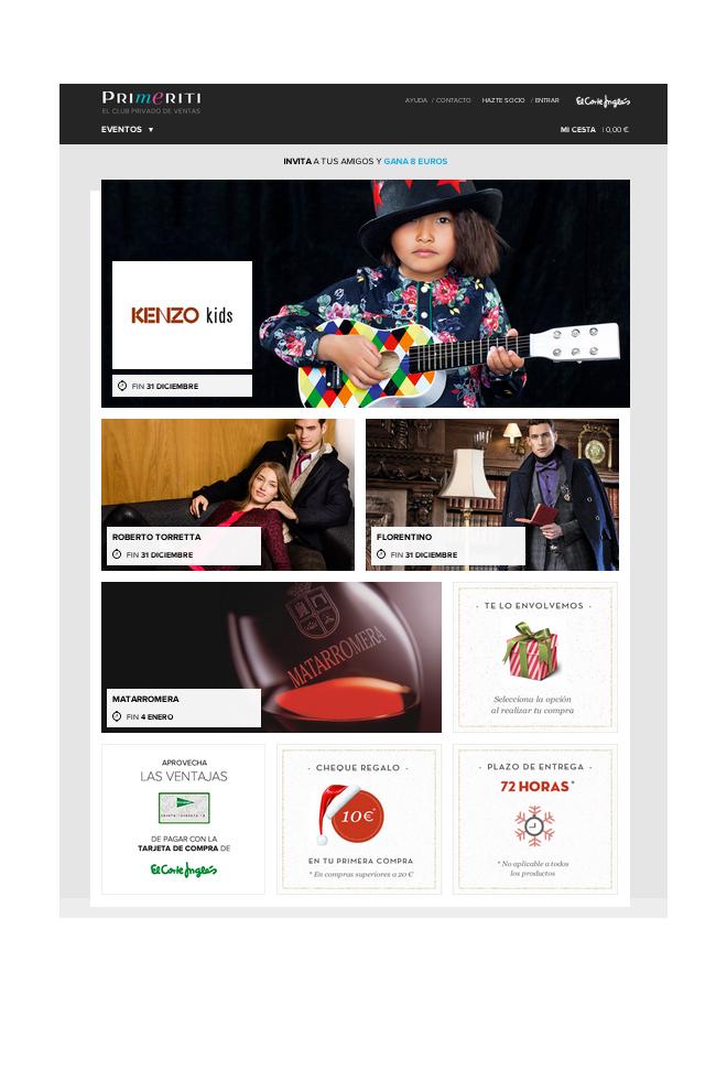Primeriti tiene nueva web