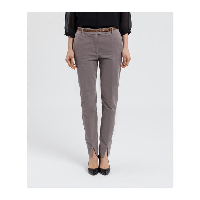 Pantalón en pana gris