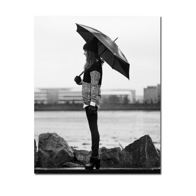 Anouska Proetta Brandon Style Scrapbook under the rain