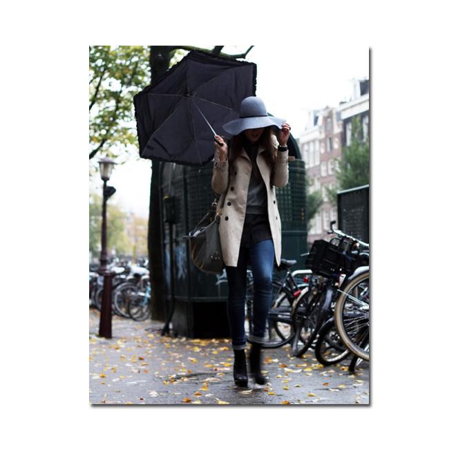 Style Scrapbook under the rain