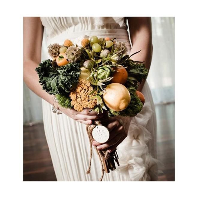 Ramo de frutas y verduras