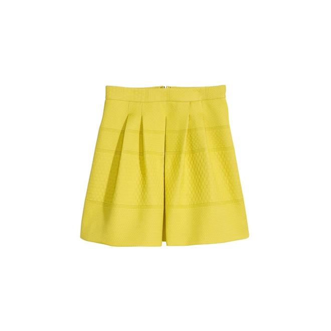 Falda colorida de H&M