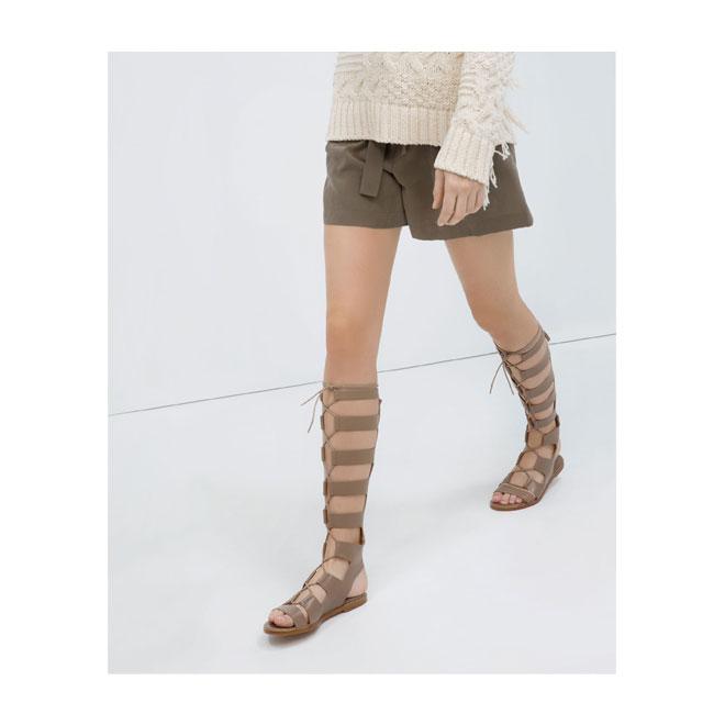 Sandalias de estilo gladiador