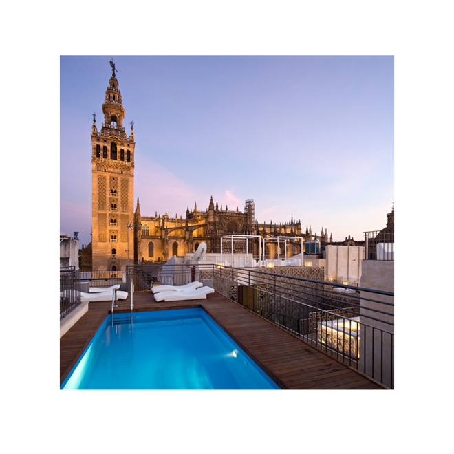 Sitios cool verano stylelovely - Terraza hotel eme ...