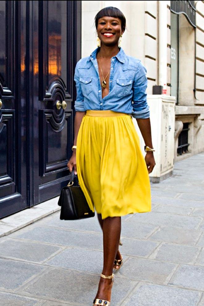 El amarillo está de moda