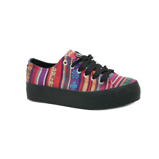 Zapatillas con estampado navajo