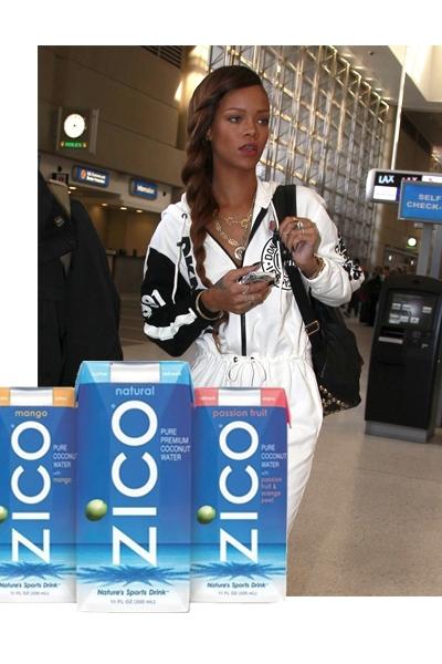 Rihanna & Agua de coco