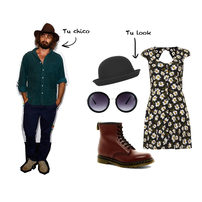 Chico hipster, look hipster