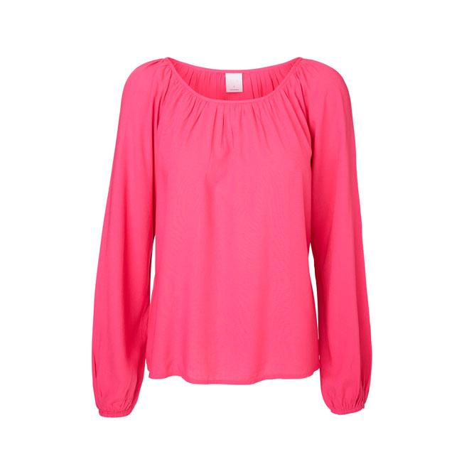 Blusa rosa de manga larga