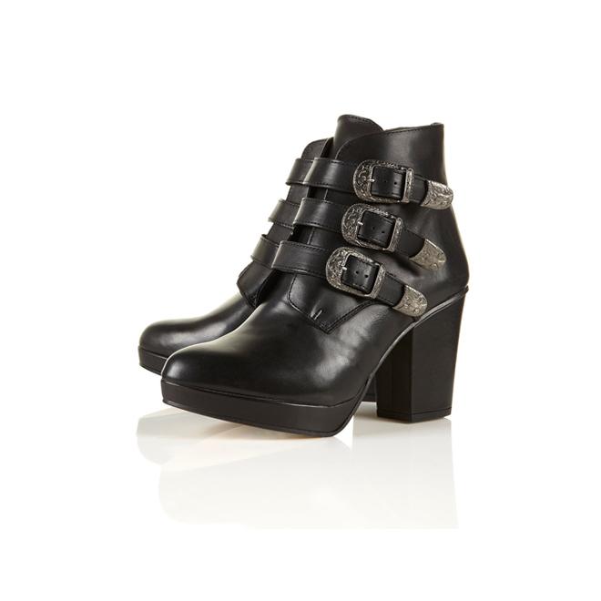 Ankle boots con hebillas
