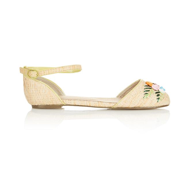 Zapatos planos con pulsera